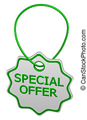 Special offer tag