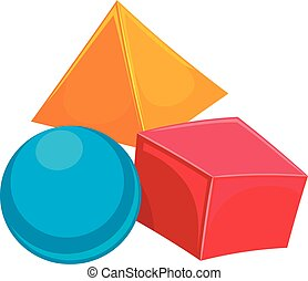 Geometric Shapes - Vector Illustration of Geometric Shapes