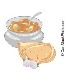 lime pickle - a vector illustration in eps 10 format of a...