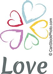 LOVE Happy Valentines day icon