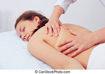 Spa Woman. Beauty Treatment. Beautiful Young Healthy...