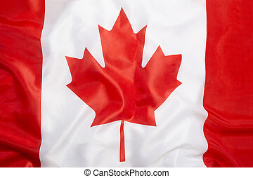 Flag of Canada as a background
