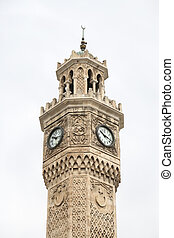 Izmir Clock Tower, Turkey - Izmir Clock Tower in Konak...