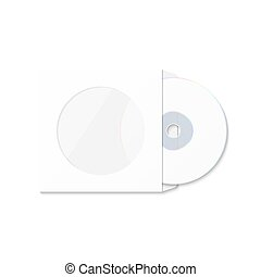 CD cover template DWD Box for CD-R - CD cover template DWD...