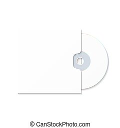 CD cover template DWD. Box for CD-R. - CD cover template...