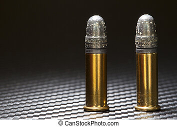 Oxidized bullets - Lead bullets on rim fire ammo with white...