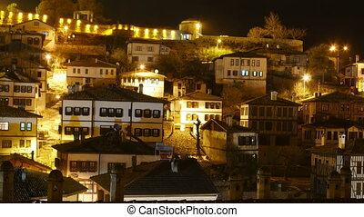 quot;Night Timelapse, Traditional Ottoman Anatolian Village,...