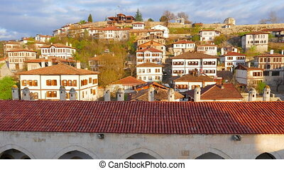 """Day Timelapse, Traditional Ottoman Anatolian Village, Safranbolu, Turkey"""