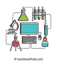 Ciencia, diseño, Laboratorio