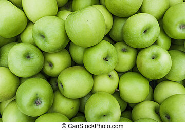 Green Apple Background