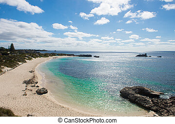 Rottnest Island Western Australia Perth beach - Beautiful...
