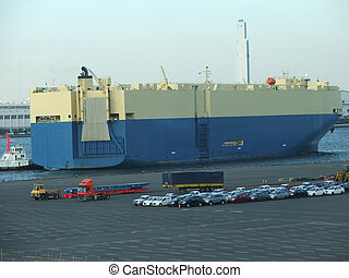 RORO - Sea-craft for transportation of cars