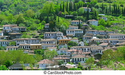 quot;Timelapse of Historical White Houses, Sirince Village,...