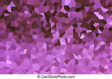 Crystallize abstract background in soft violet purple colour tone