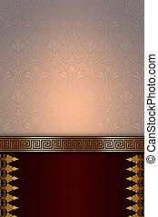 dekorativ, dekorativ, Hintergrund.,