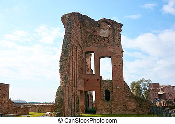 Rome Palatine - Italy, Rome Palatine ruins of the ancient...