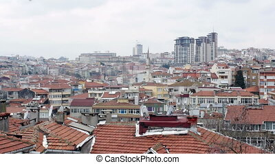 """Ugly Roof Top view of Istanbul, Turkey"""