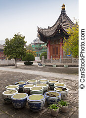 Pagoda architecture in China. - Pagoda architecture in...
