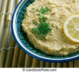 Limon Soslu Humus - Hummus with Lemon Sauce