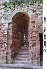 Arrow loop, Kenilworth Castle, UK - Kenilworth Castle...