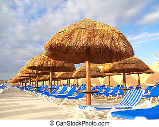 a family cancun beach resort in Mexico