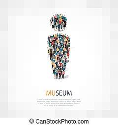 museum people symbol