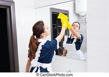 Keimt tendes mittel stockfoto bilder 111 keimt tendes for Spiegel putzen