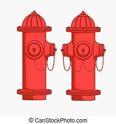 Views of Hydrant Vectors - Views of Hydrant Vector...