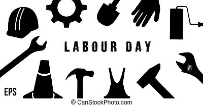 Labour Day Consept With Tool - International Labour Day