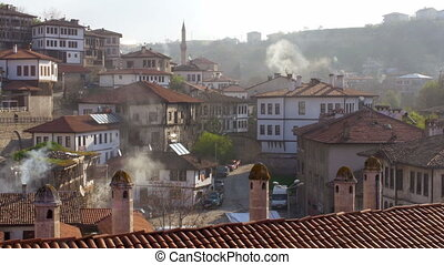 """View of Traditional Ottoman Anatolian Village, Safranbolu, Turkey"""