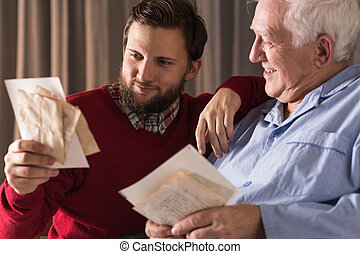Memories and parental love - Image of memories and parental...