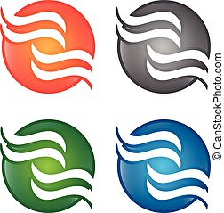 Illustration concept of abstract icon . Vector