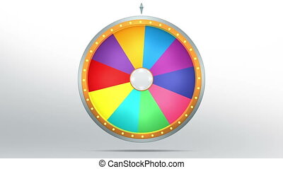 lucky spin 10 area color - The wheel of fortune or Lucky...