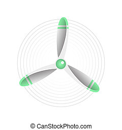 Propeller illustration. Propeller aircraft illustration....