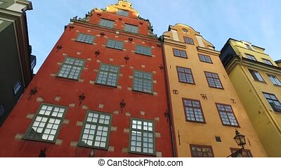 Stortorget Public Square, Gamla Stan in Sweden - without...