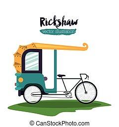 rickshaw trasnportation design - rickshaw transportation...