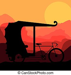 rickshaw trasnportation design - rickshaw transportation...