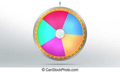 wheel fortune 5 area - The wheel of fortune or Lucky spin...
