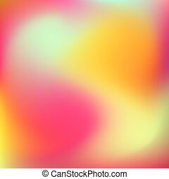 Abstract Orange Gradient Background - Abstract orange blur...