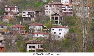 """View of Traditional Ottoman Anatolian Village, Safranbolu,..."