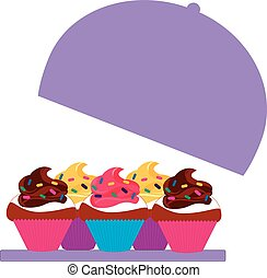 cupcakes colored 4