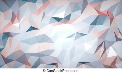 Low poly slowly changing background Loop able 3d animation