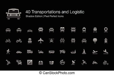 Transportation and Logistic Icons