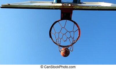 Basketball Playing
