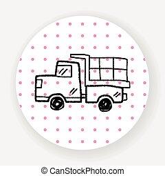 Doodle Toy car