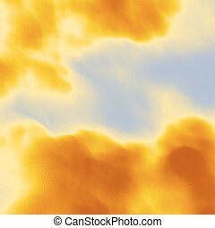 Sky With Clouds Modern pattern Nature background Modern...