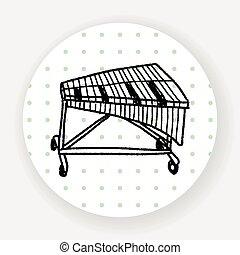 Xylophone doodle