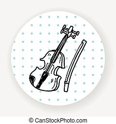 Violin doodle