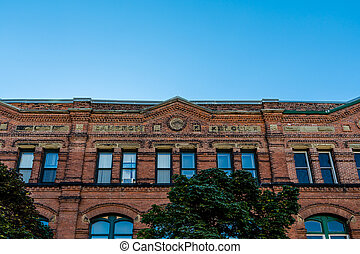 Cameron Block Building - Old Cameron Block Building in...
