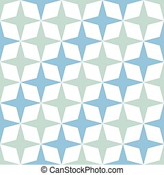 moroccan zellige seamless - Green and blue mosaic moroccan...